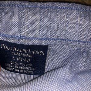 Polo by Ralph Lauren Pants - Blue polo ralph lauren pajamas large 36 - 38
